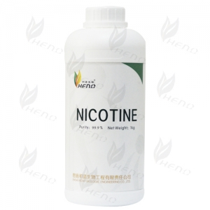 1kg high concentration colorless  nicotine 999mg/ml putiry nicotine made in china